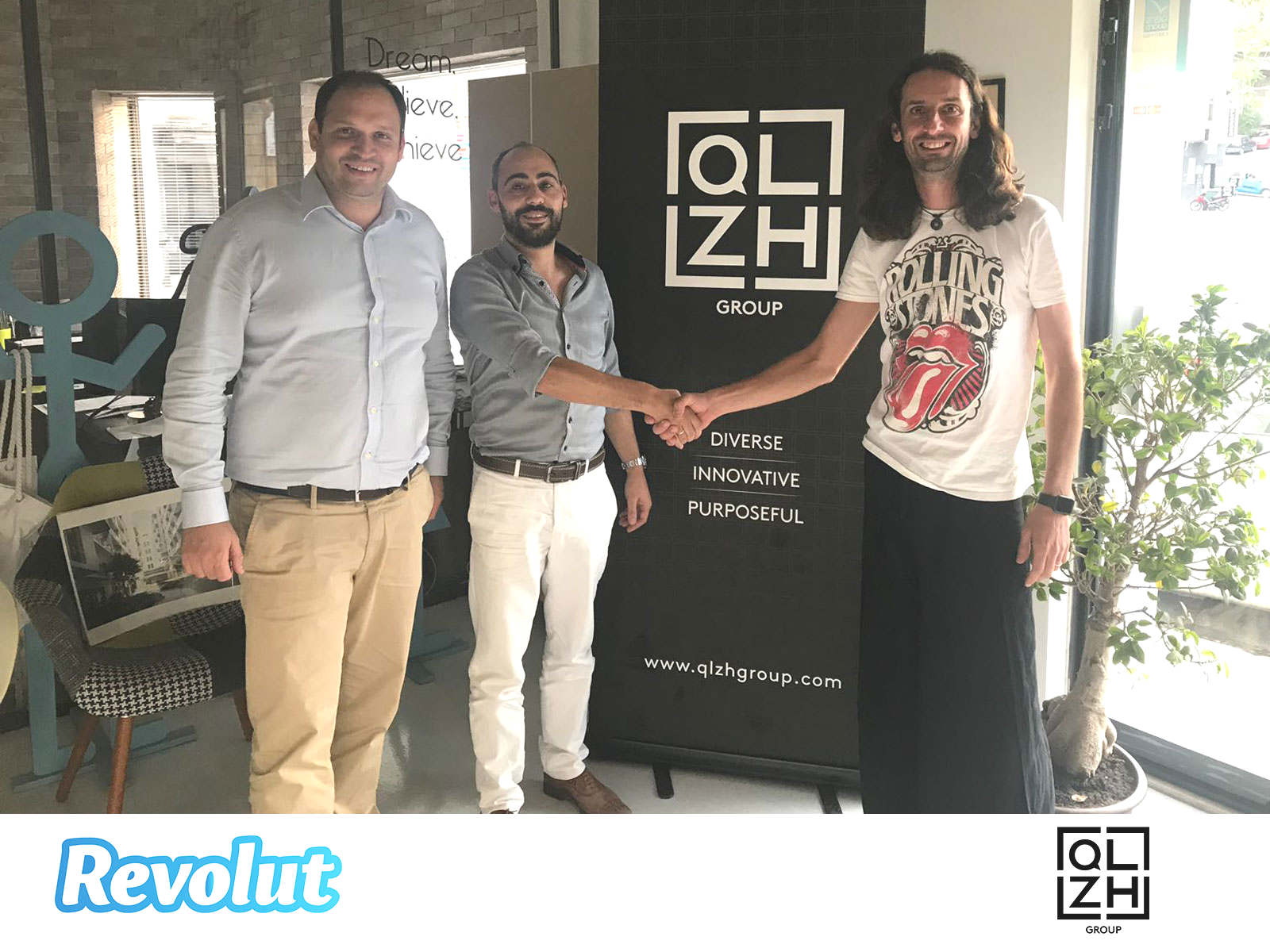 QLZH Quicklets and Zanzi Homes sign up with Revolut Business